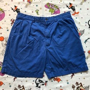 Polo Ralph Lauren Golf chino shorts size 36 blue